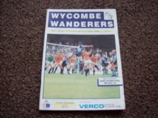 Wycombe Wanderers v Yeovil Town, 1990/91
